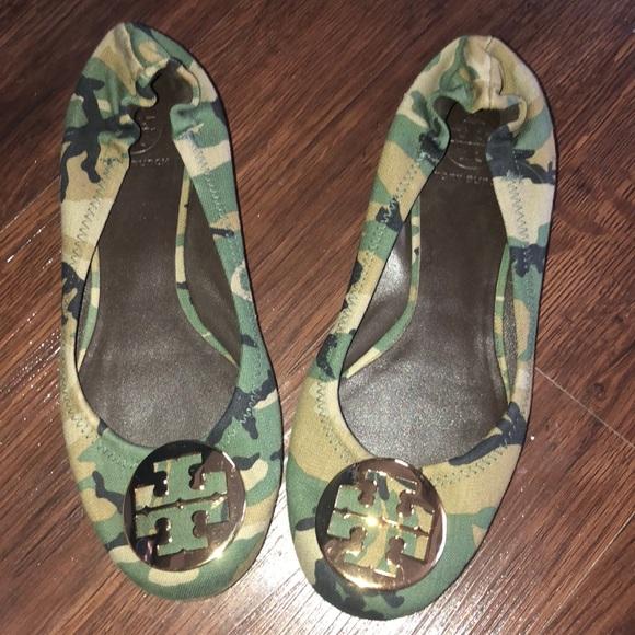 6cb359f685f5 ✨✨💎Tory Burch Camouflage flats💎✨✨. M 5ad3acc3caab447462186a93